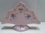 Napkin holder- Czech pink porcelain