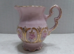 Small jug - Czech pink porcelain