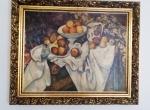 Paul Cézanne - Apple and oranges, Life Fruit