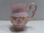 Small jug - Czech pink porcelain