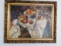 Paul Cézanne - Apple and oranges, Life Fruit